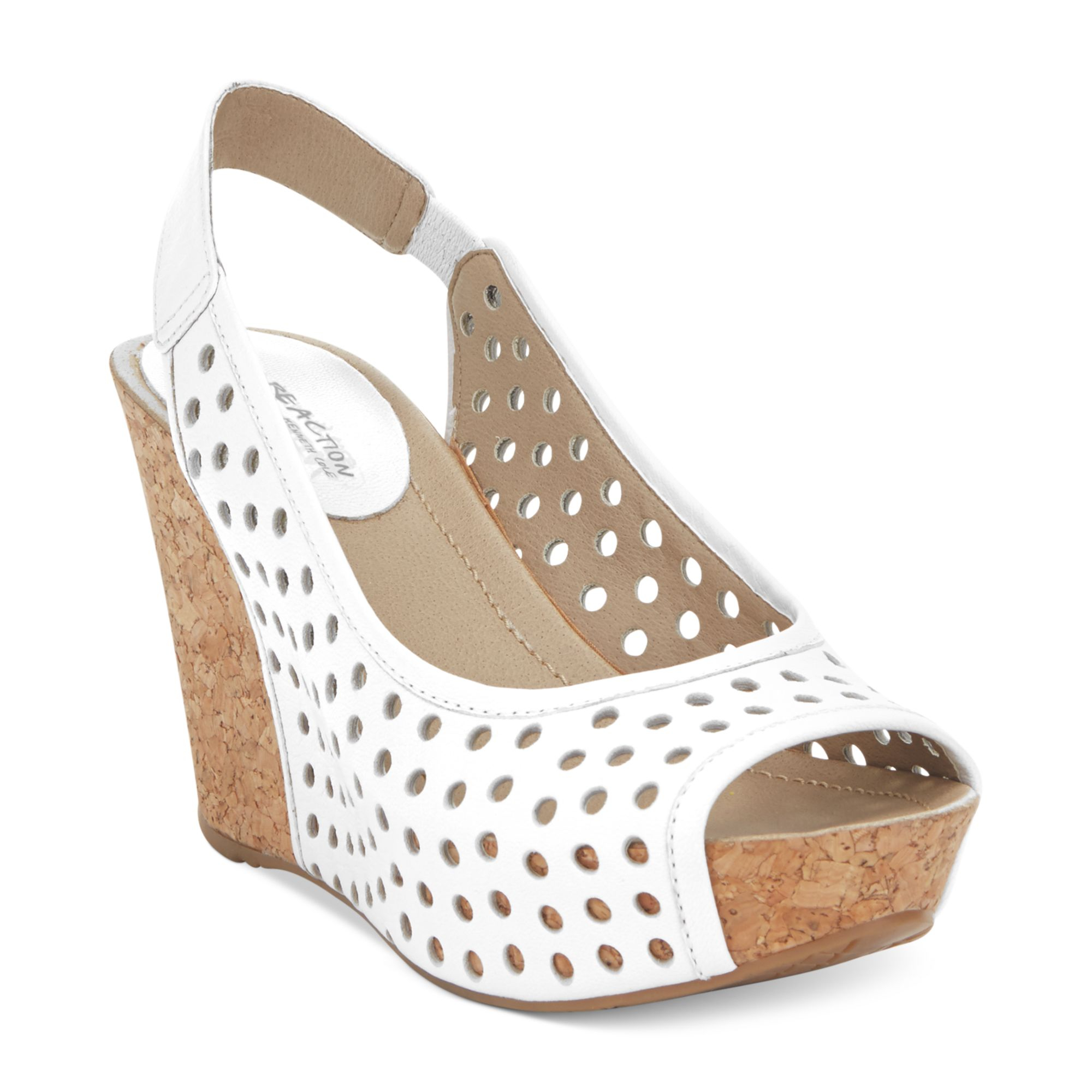 e4a71fc45e6d5 Lyst - Kenneth Cole Reaction Soley Roller Platform Wedge Sandals in ...