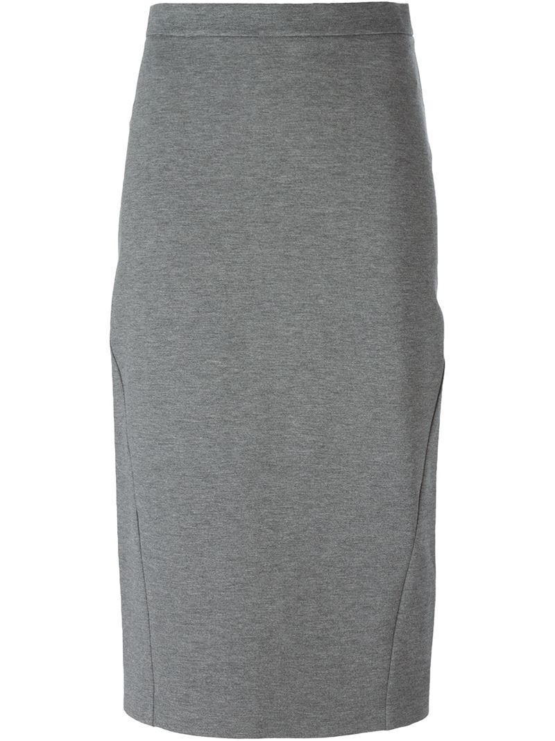 Pencil Skirt Grey 119