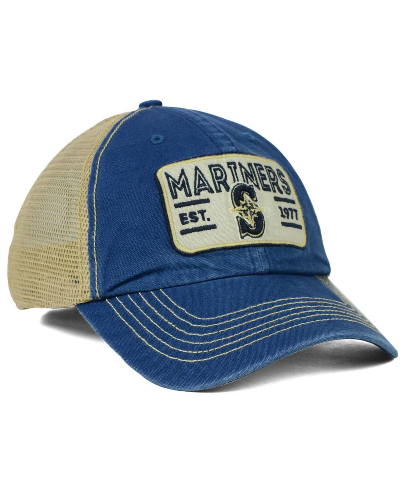 0c7a3a32b14 Lyst - 47 Brand Seattle Mariners Goin Yard Mesh Cap in Yellow for Men