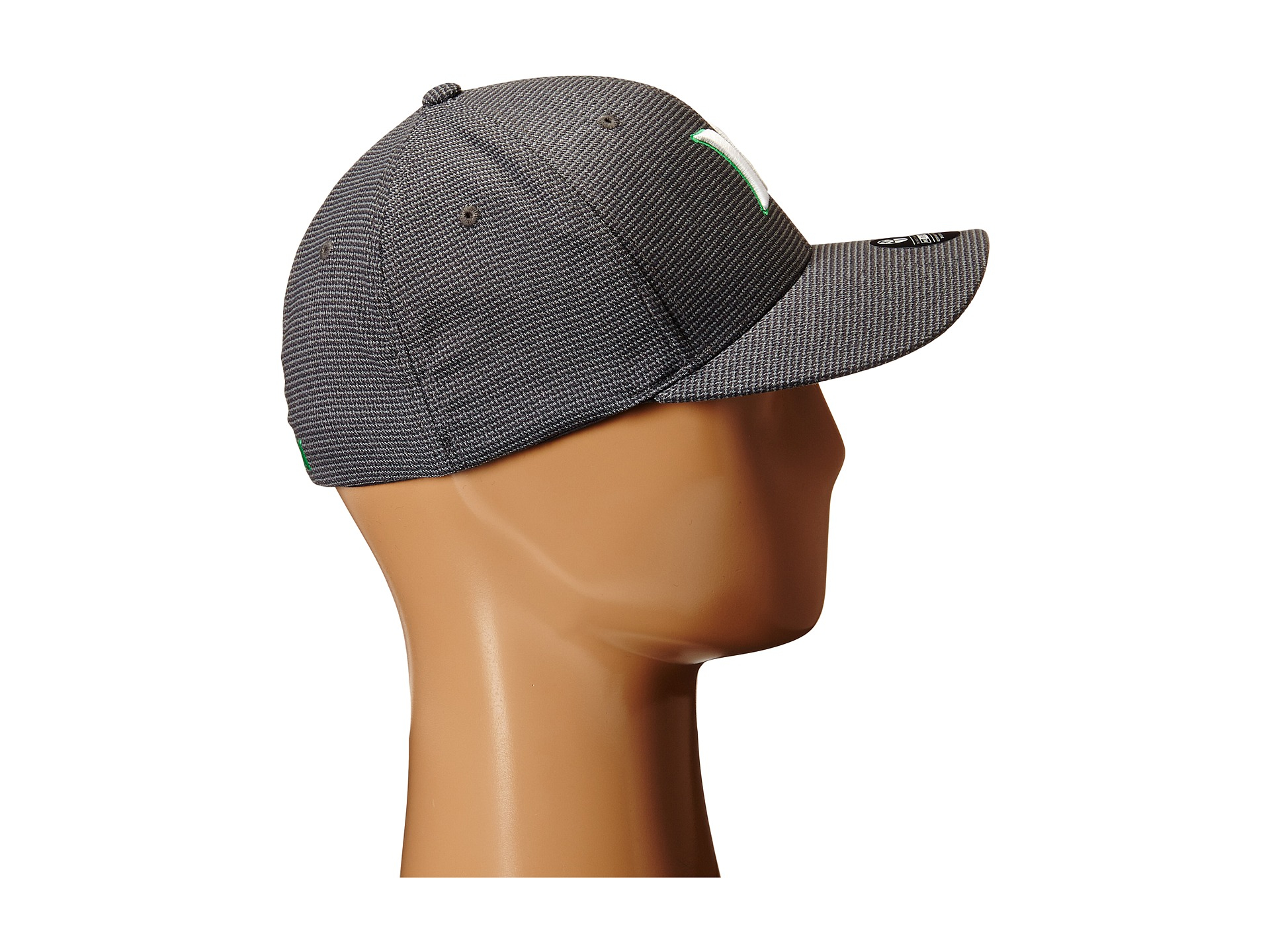 best sneakers 2386c 4e8b5 ... coupon code for lyst hurley dri fit halyard fitted hat in gray for men  731f9 c872a