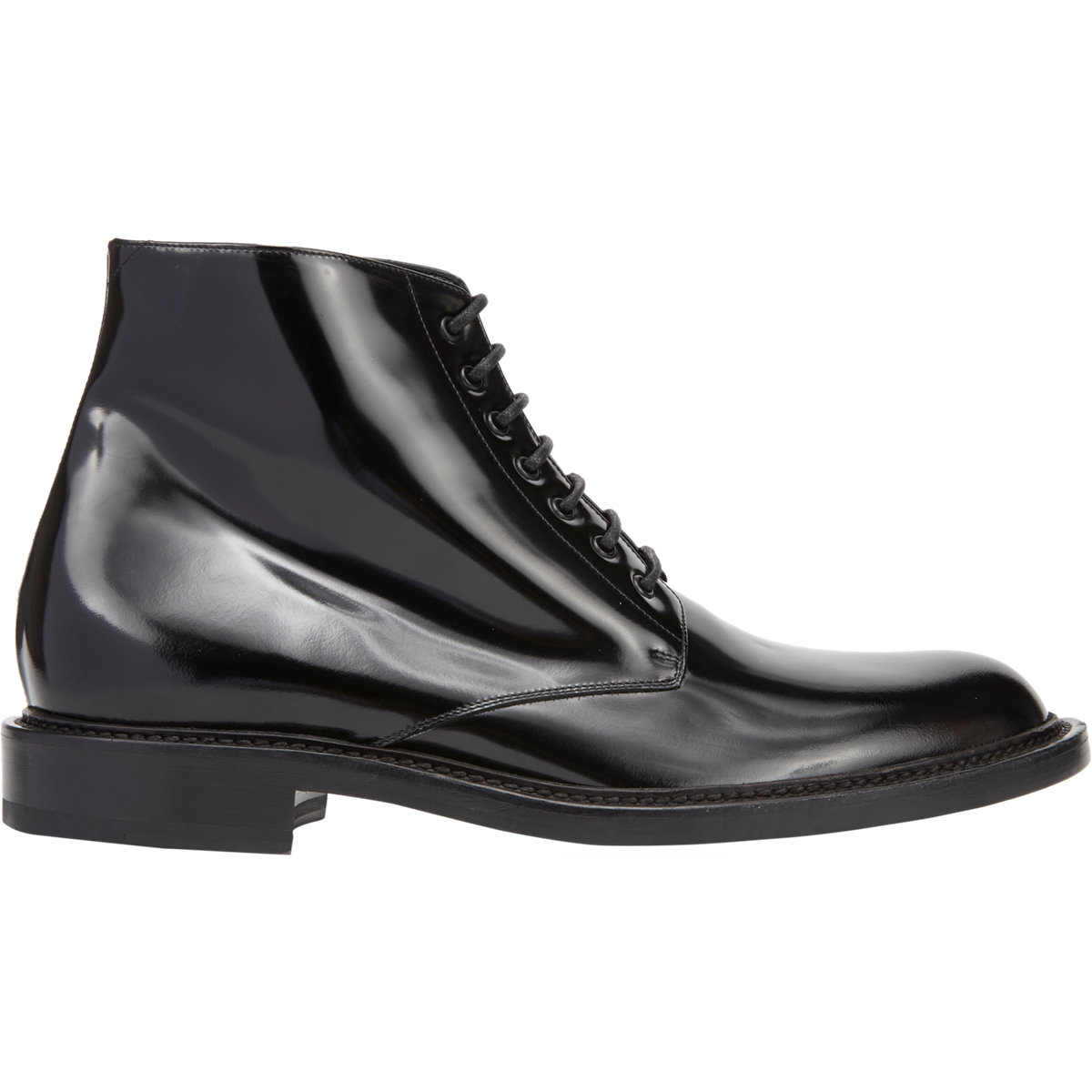 dc623e65566 Saint Laurent army Boots in Black for Men - Lyst