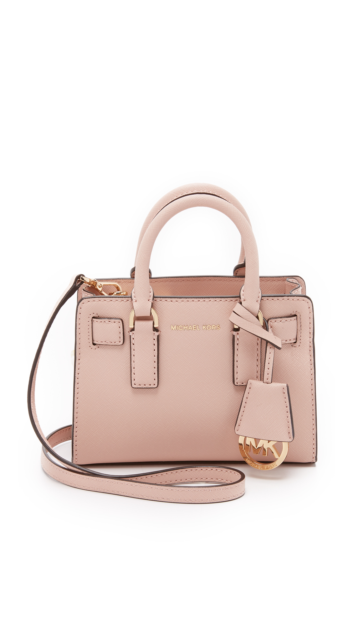 ee04160c3edb ... germany lyst michael michael kors dillon saffiano leather cross body bag  a2578 4f76b