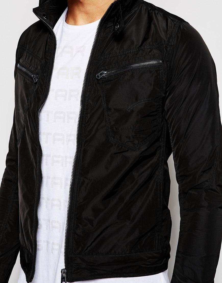 lyst g star raw jacket arc zip 3d slim fit nylon in. Black Bedroom Furniture Sets. Home Design Ideas