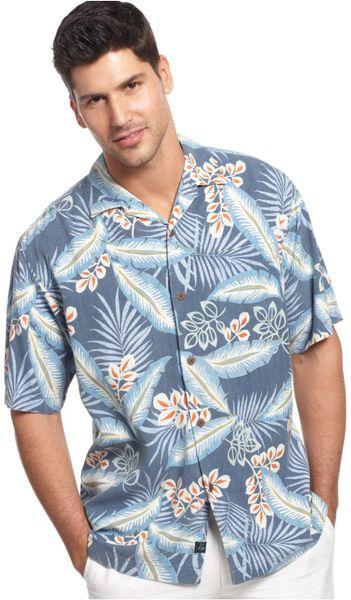 Tommy Bahama Big And Tall Silk Polynesian Paradise Floral