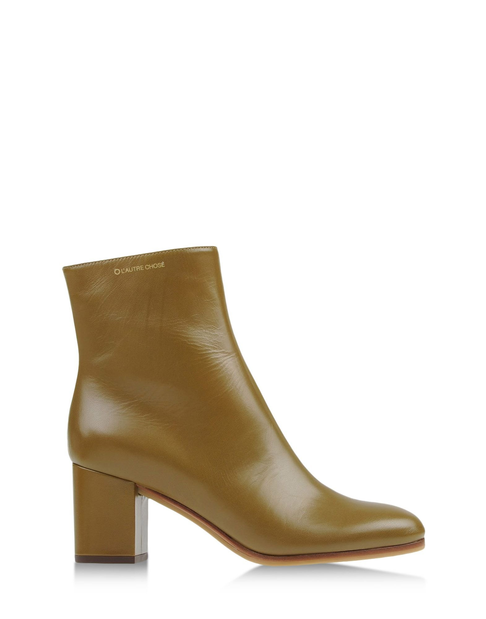 l autre chose ankle boots in green green lyst