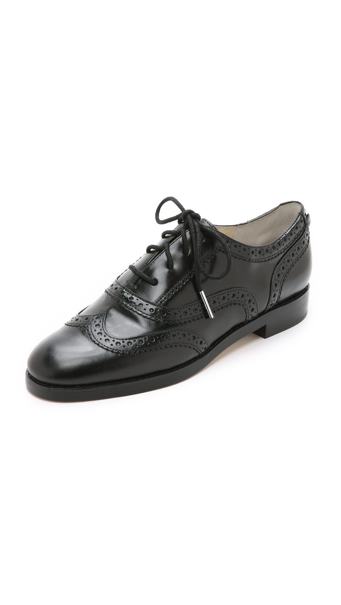 d7b40e4332 Lyst - Michael Michael Kors Regent Oxfords - Black in Black
