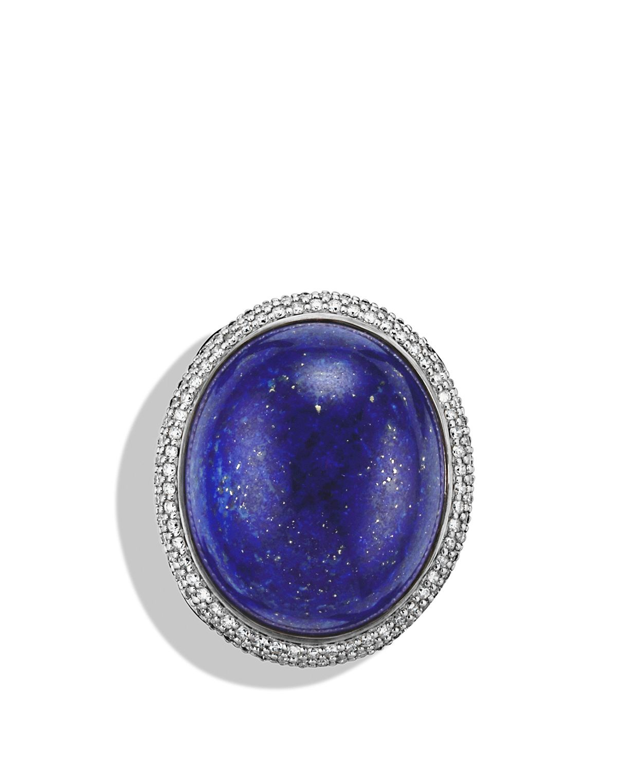 Lyst David Yurman Dy Signature Oval Ring With Lapis