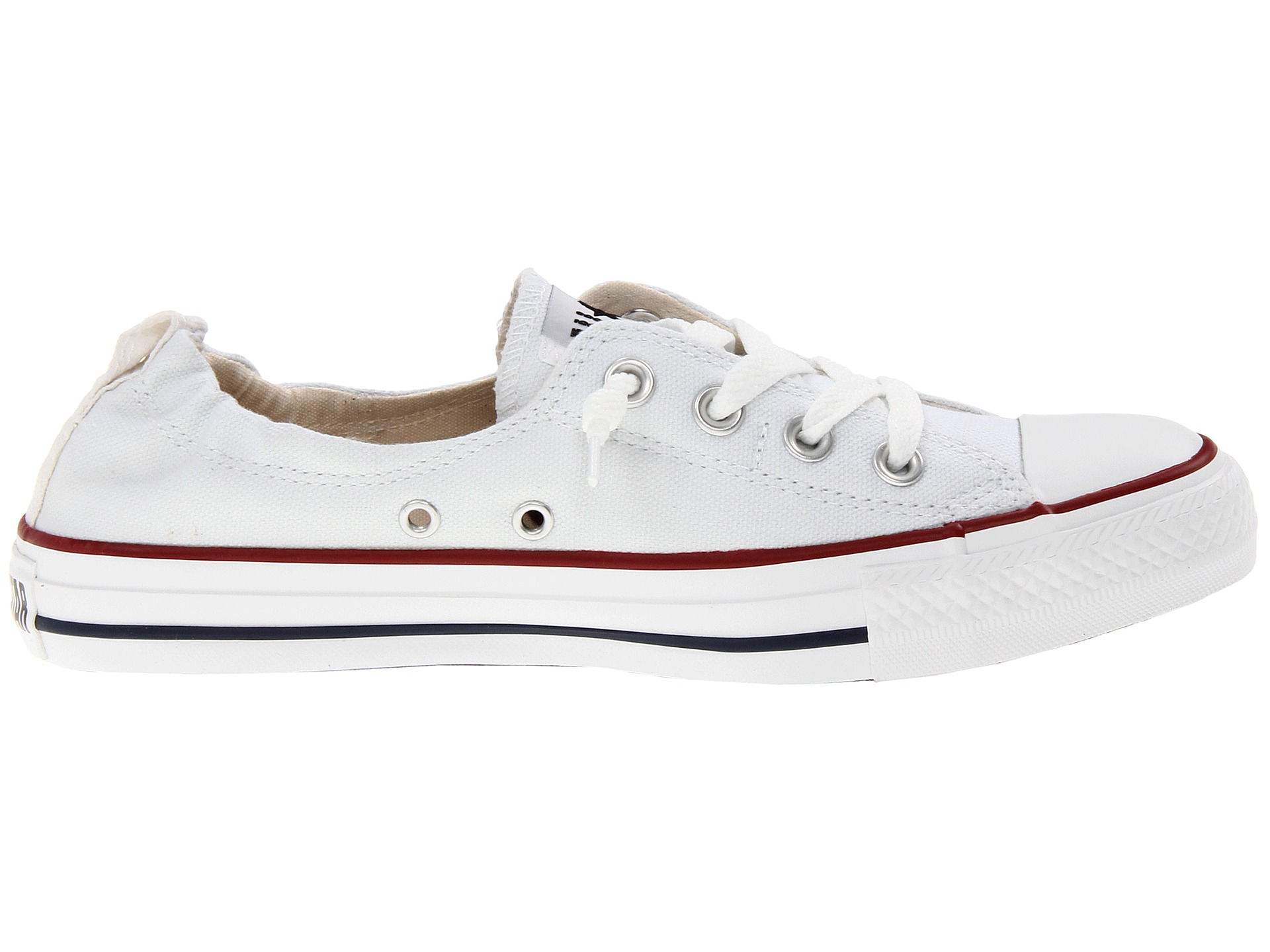converse chuck taylor all star shoreline slip on ox in white. Black Bedroom Furniture Sets. Home Design Ideas