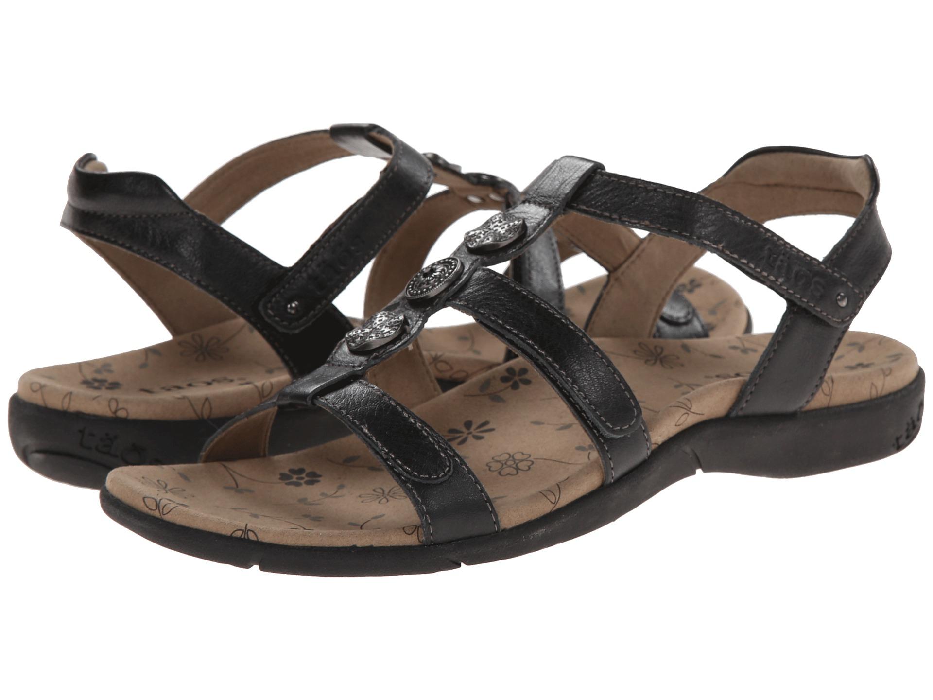 Taos Footwear Natural In Black Lyst