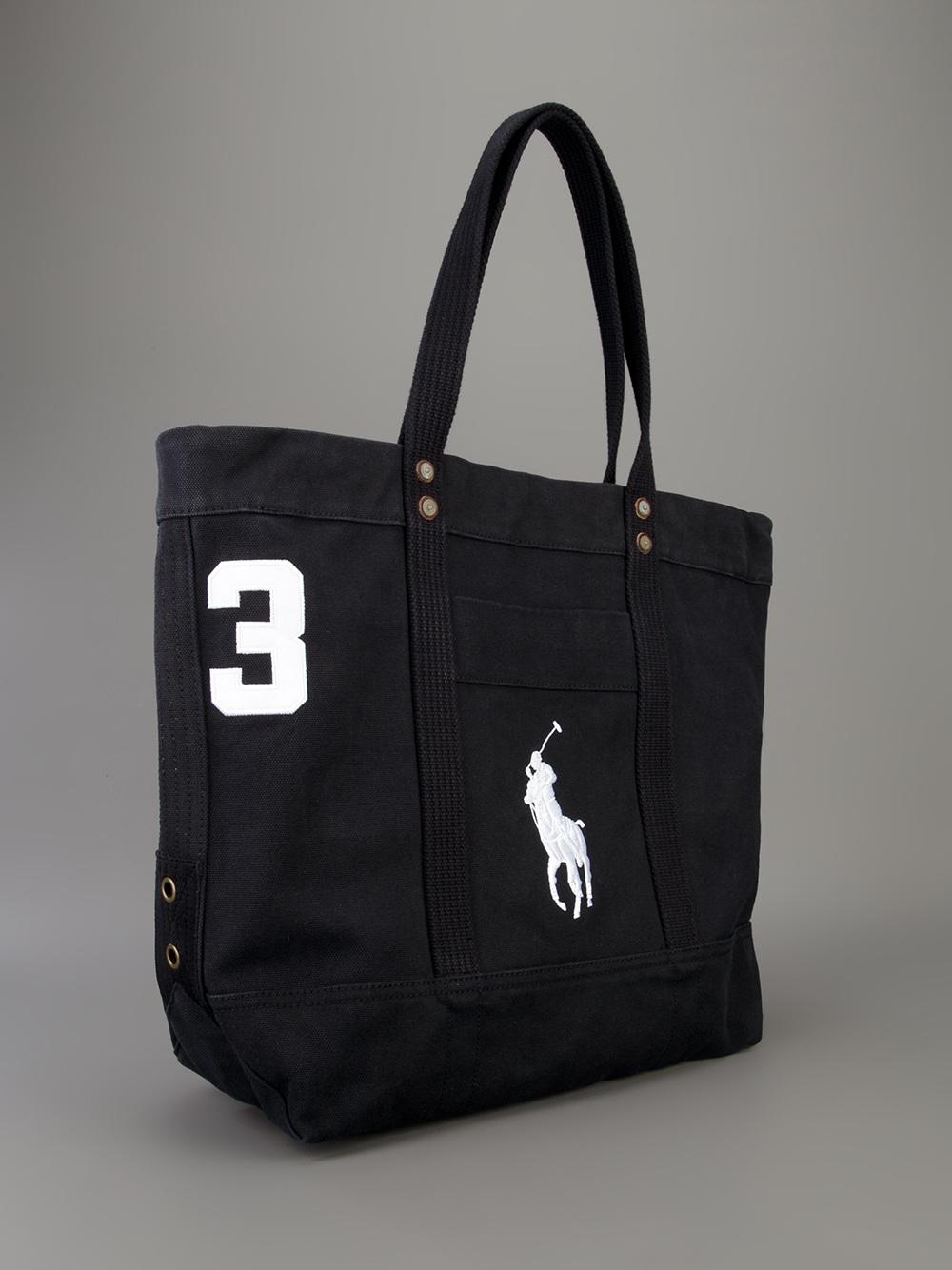 In Logo Ralph Men For Lauren Lyst Bag Polo Black Shopping vxqpYfCn