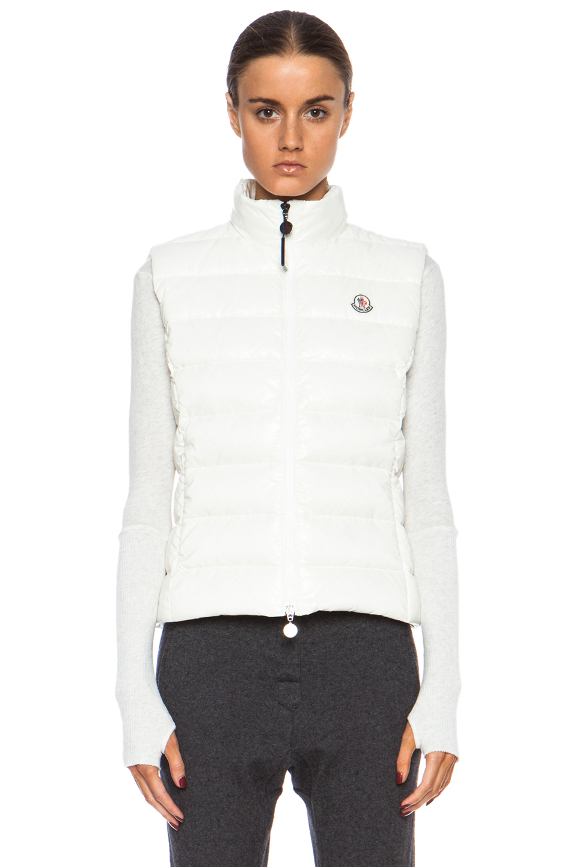 moncler ghany vest white
