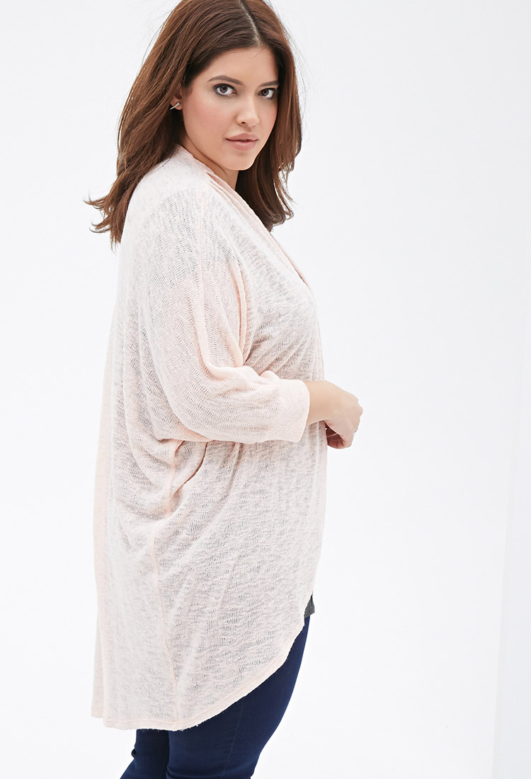 Forever 21 Plus Size Longline Dolman Cardigan You've Been Added To ...