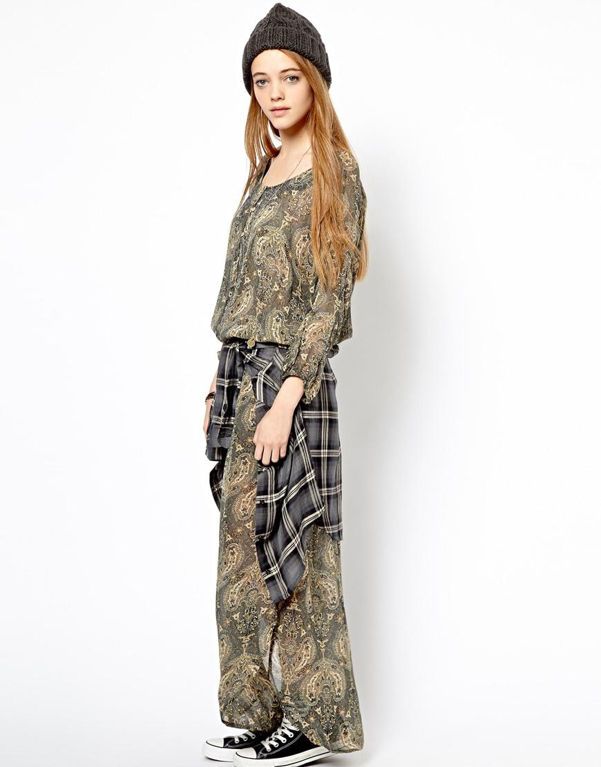 Pepe jeans maxi dress