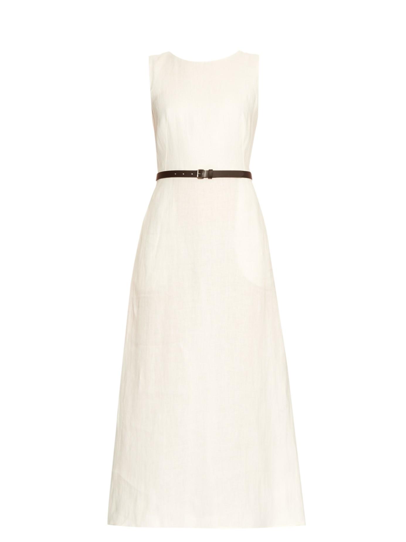 0c8844a975 Lyst - Weekend by Maxmara Amico Dress in White