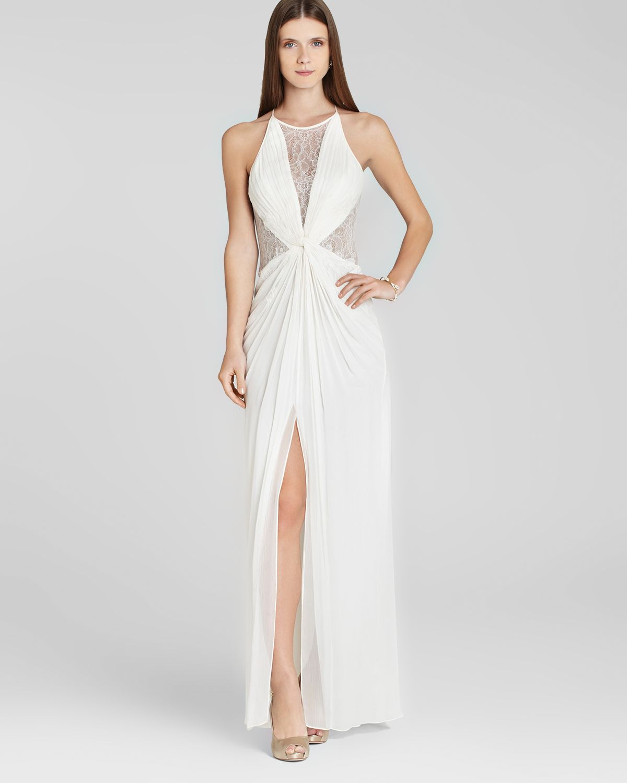 Lyst - Bcbgmaxazria Bcbg Max Azria Gown Maxine in White