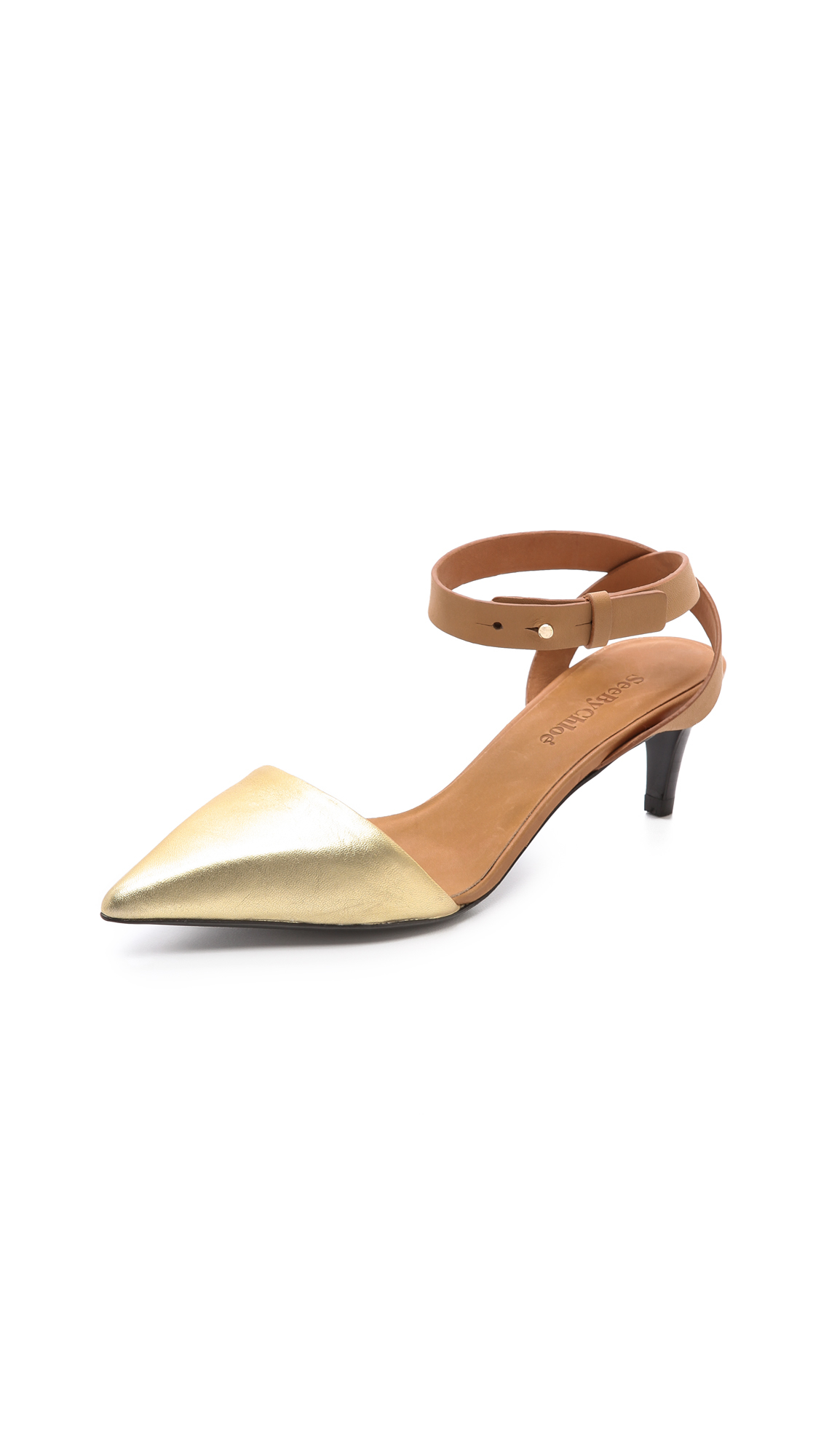 Chloé Embellished Pointed-Toe Pumps discount amazon outlet brand new unisex hot sale online free shipping deals t90cdG
