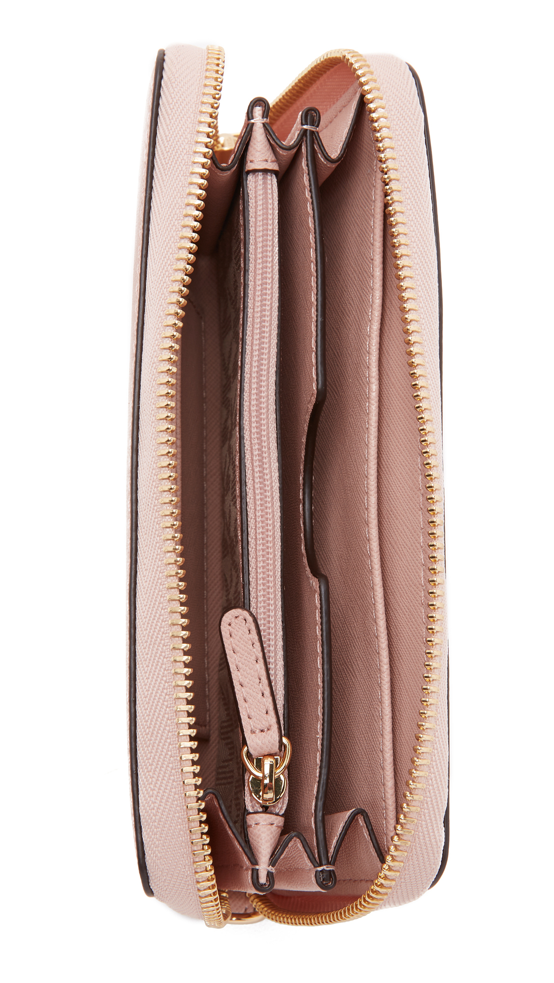 b6cf1aaa155e MICHAEL Michael Kors Jet Set Travel Continental Wallet - Ballet in ...