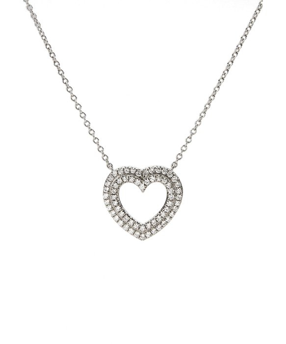 Lyst tiffany co tiffany circlet pendant with diamonds in gallery aloadofball Image collections