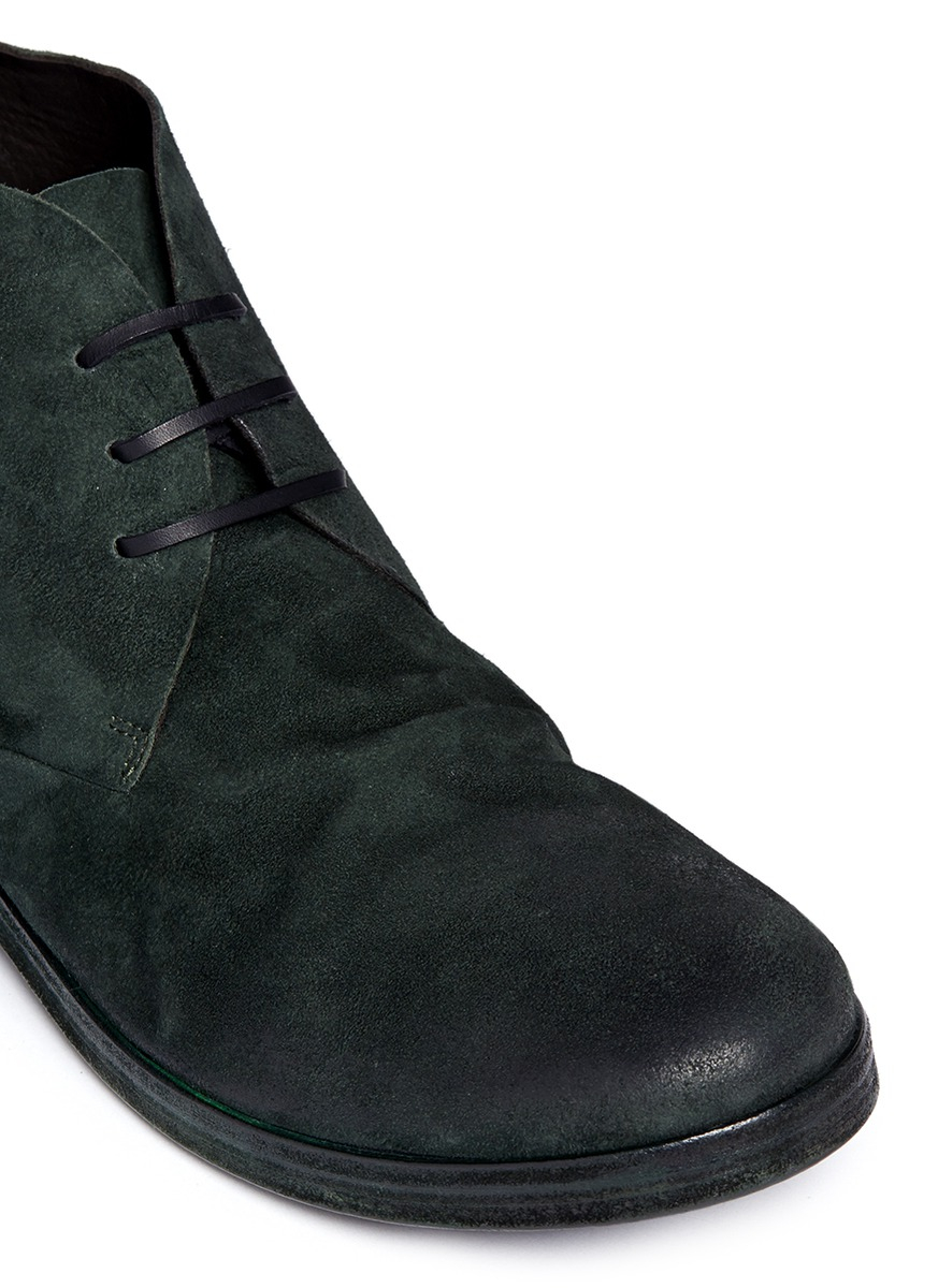 For Green Lyst In Desert Up Lace Marsèll Men Suede Boots 'listello' wqwg1z