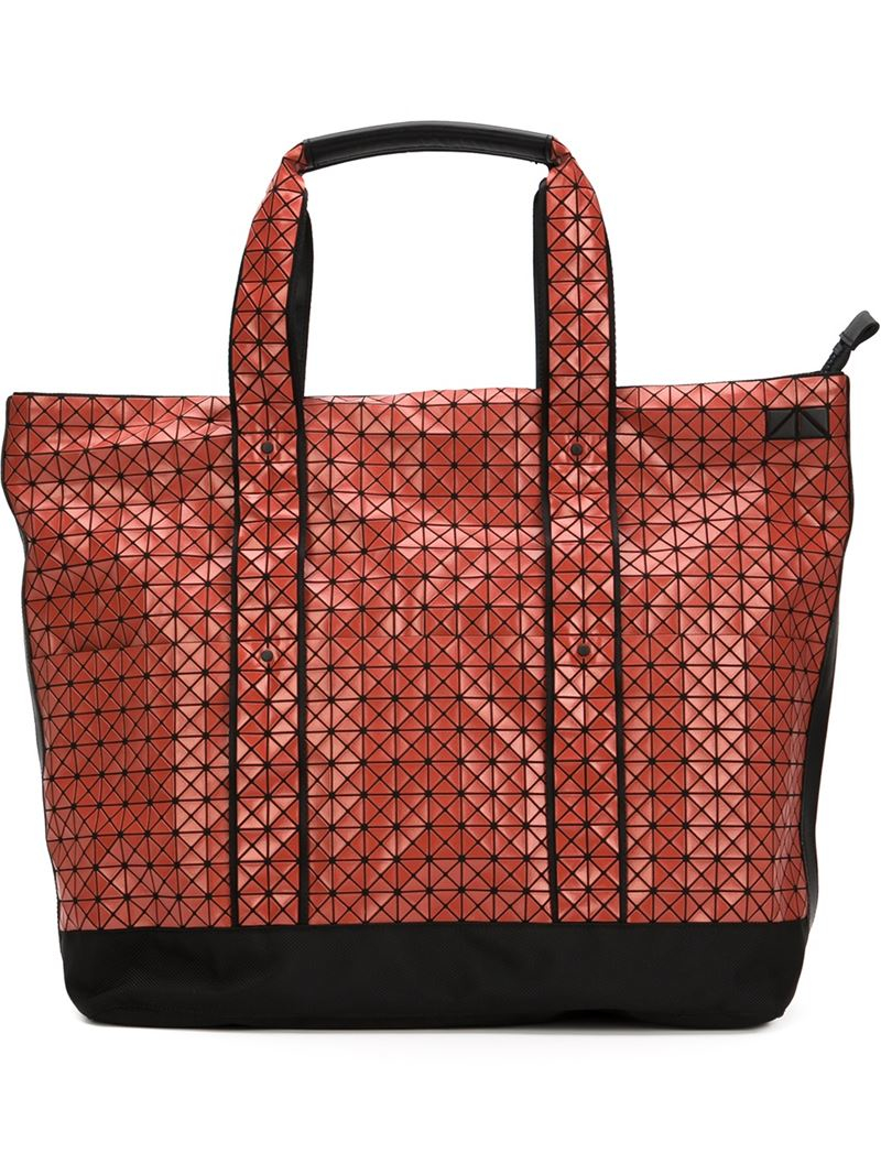 Lyst - Bao Bao Issey Miyake Large Weekender Tote in Red d47d048f390d8