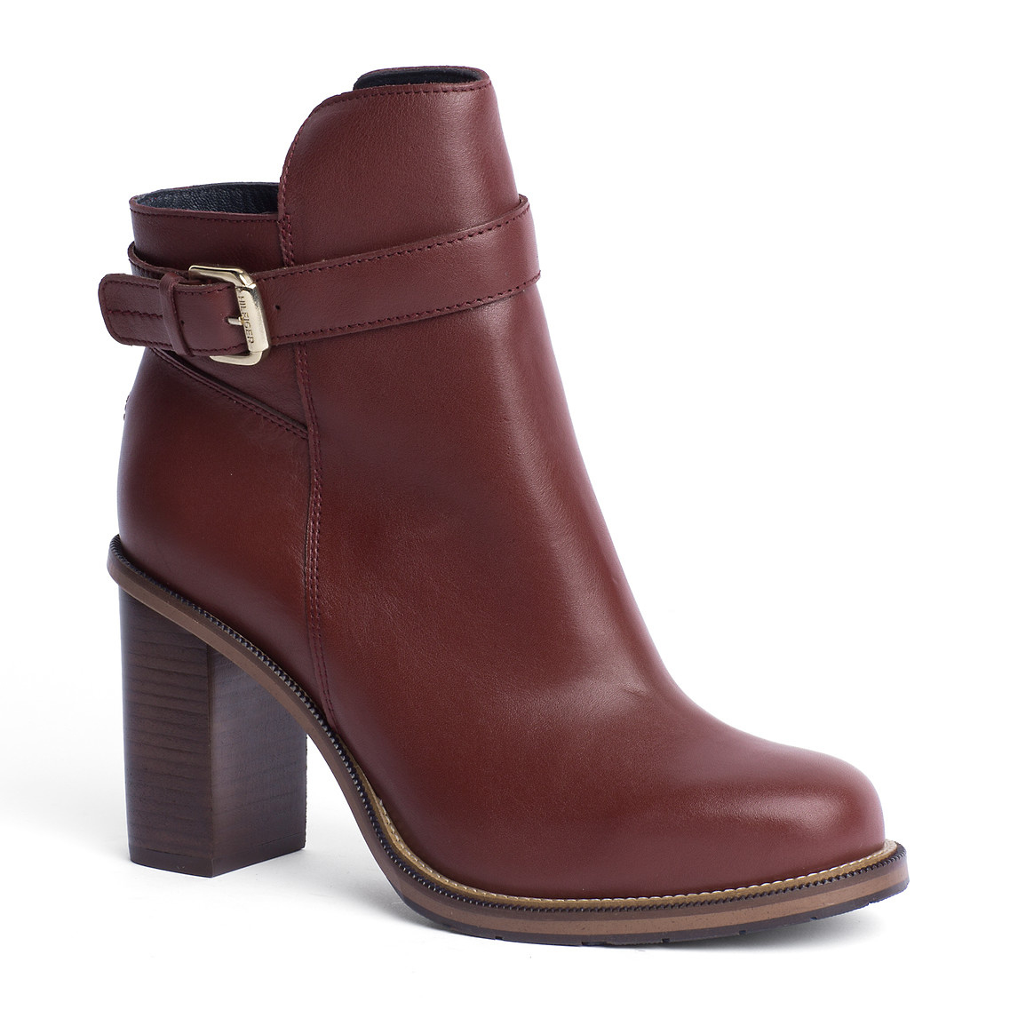 tommy hilfiger hillary ankle boots in purple cabernet lyst. Black Bedroom Furniture Sets. Home Design Ideas