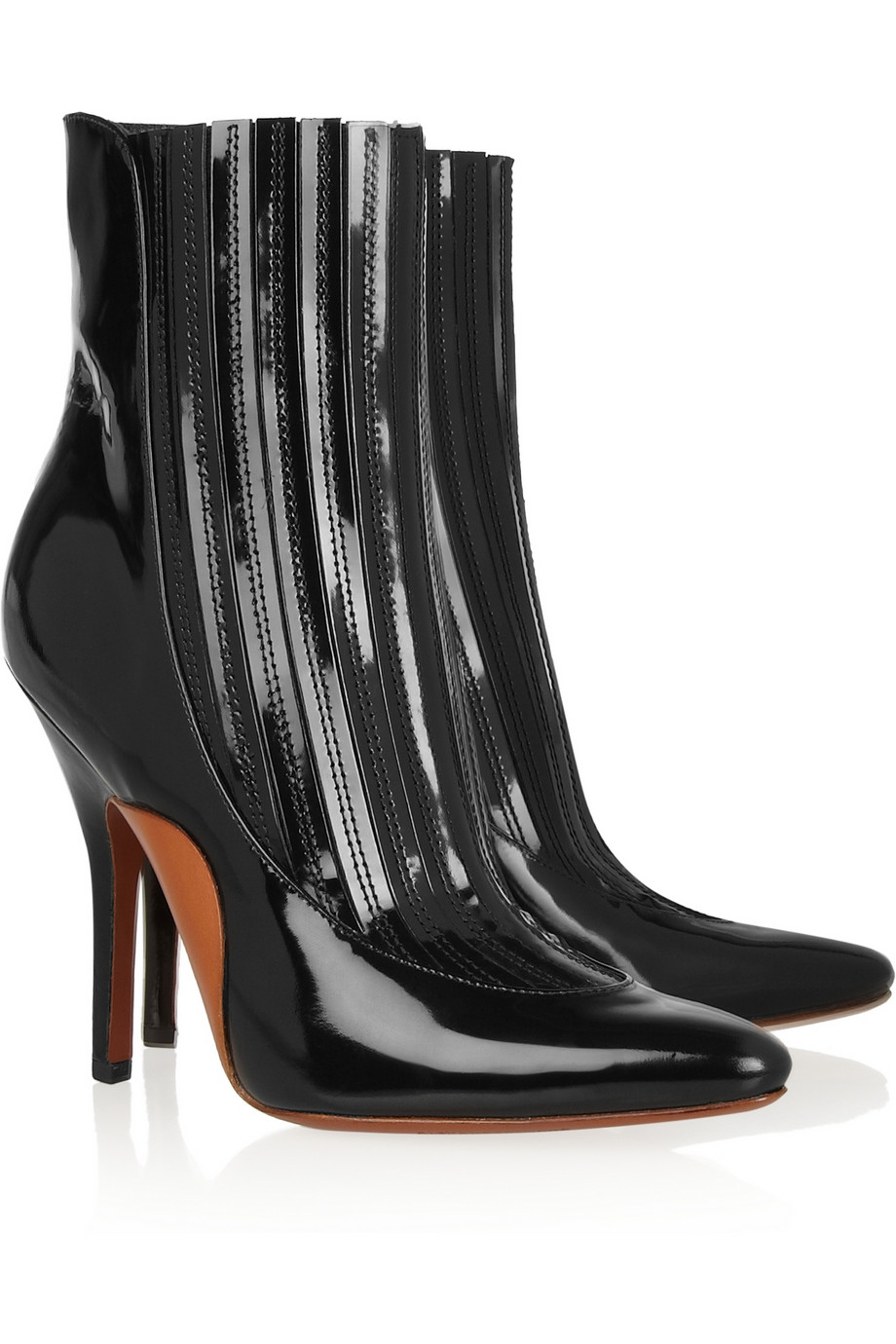 Alexander Wang Patent Leather Boots RYYRVTvduq