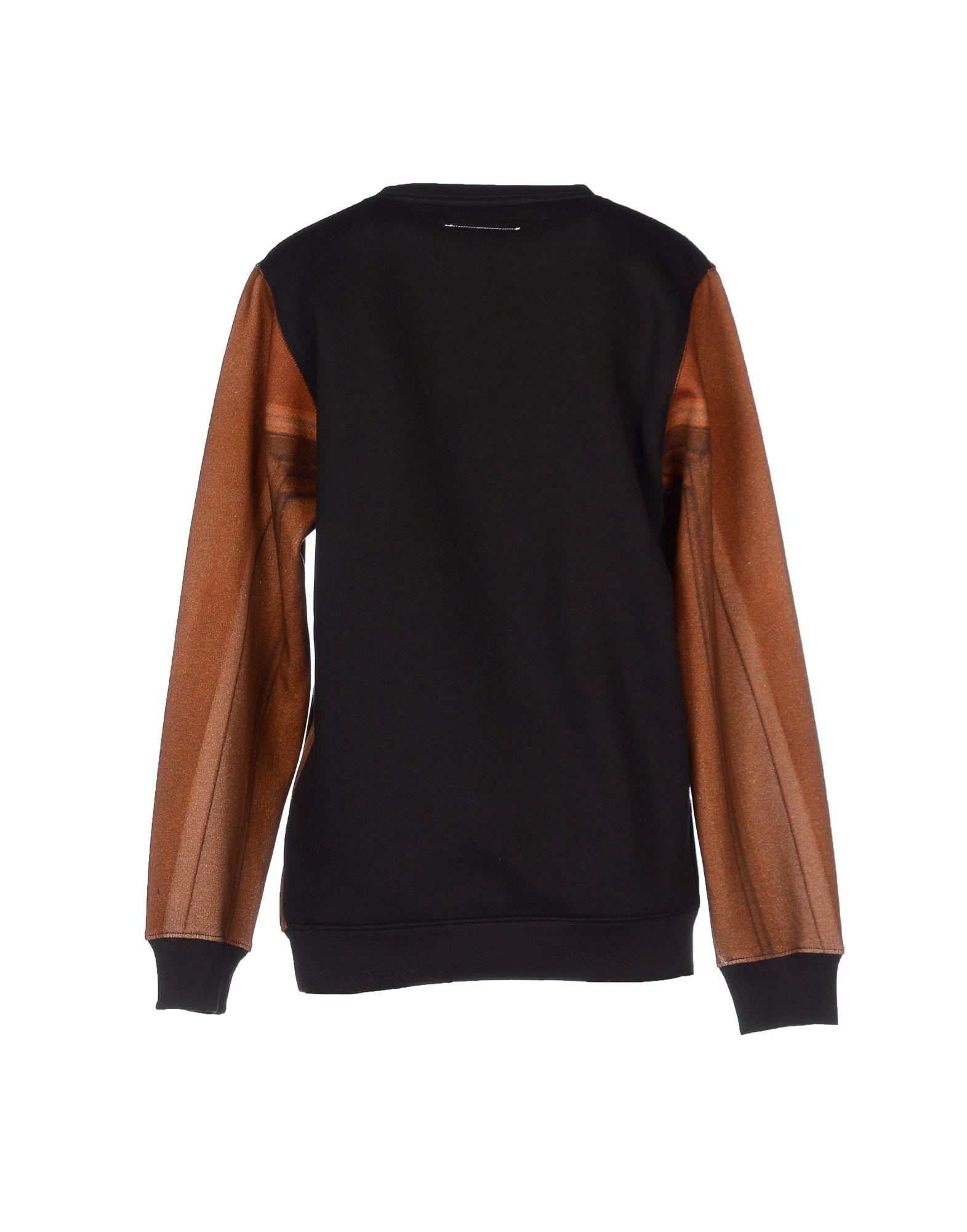 Lyst mm6 by maison martin margiela sweatshirt in brown for Mm6 maison martin margiela