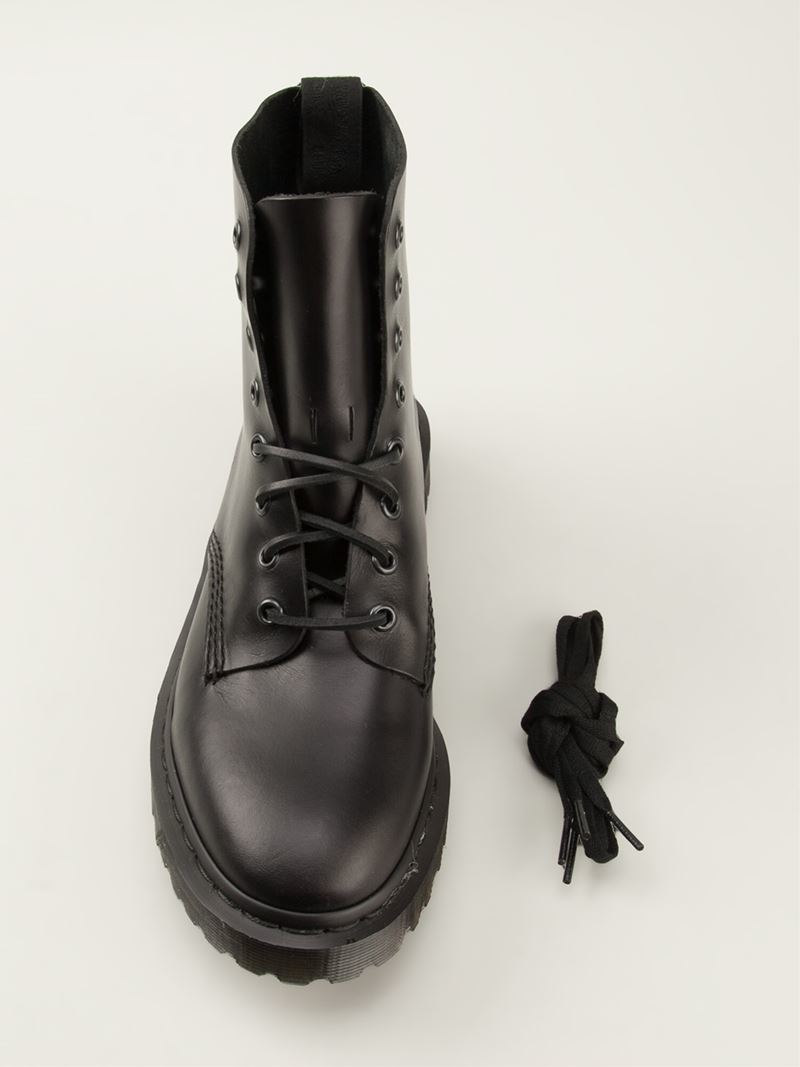 36b08f7caa9 Lyst - Dr. Martens Hide Boots in Black for Men