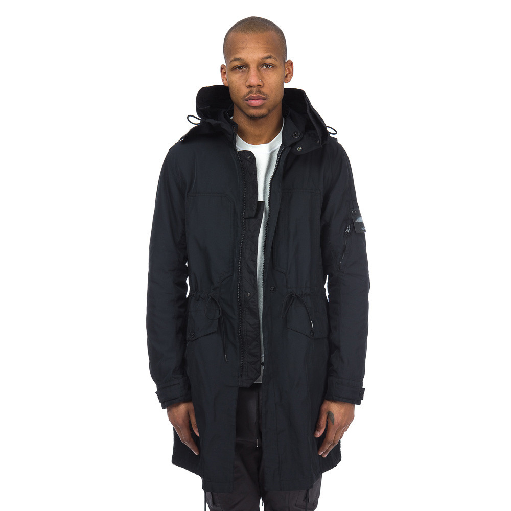 Stone island Shadow Project 70405 Fishtail Parka In Black Nylon in ...
