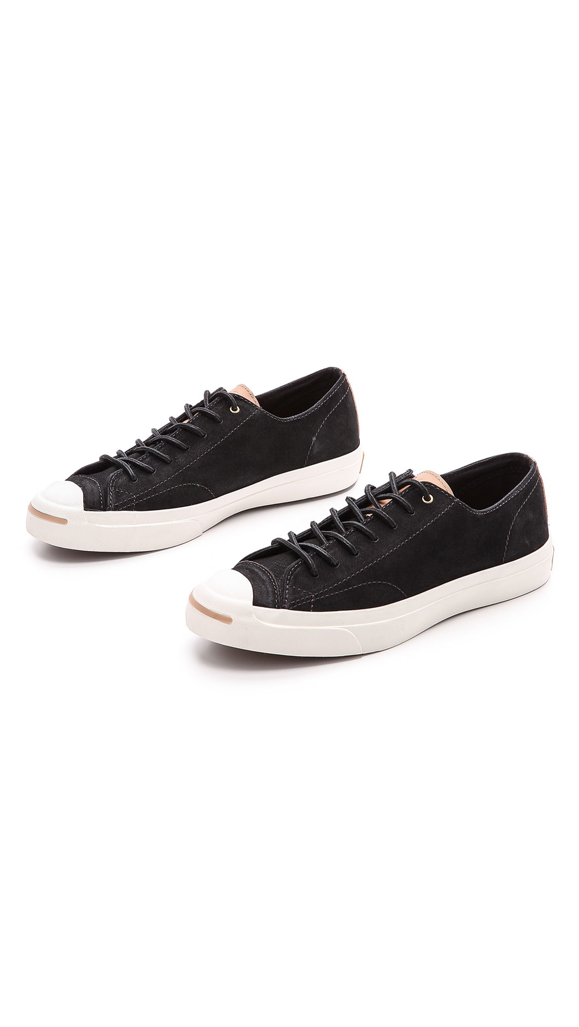 e9a16e952f91 Lyst - Converse Jack Purcell Split Tongue Jack Sneakers in Black for Men