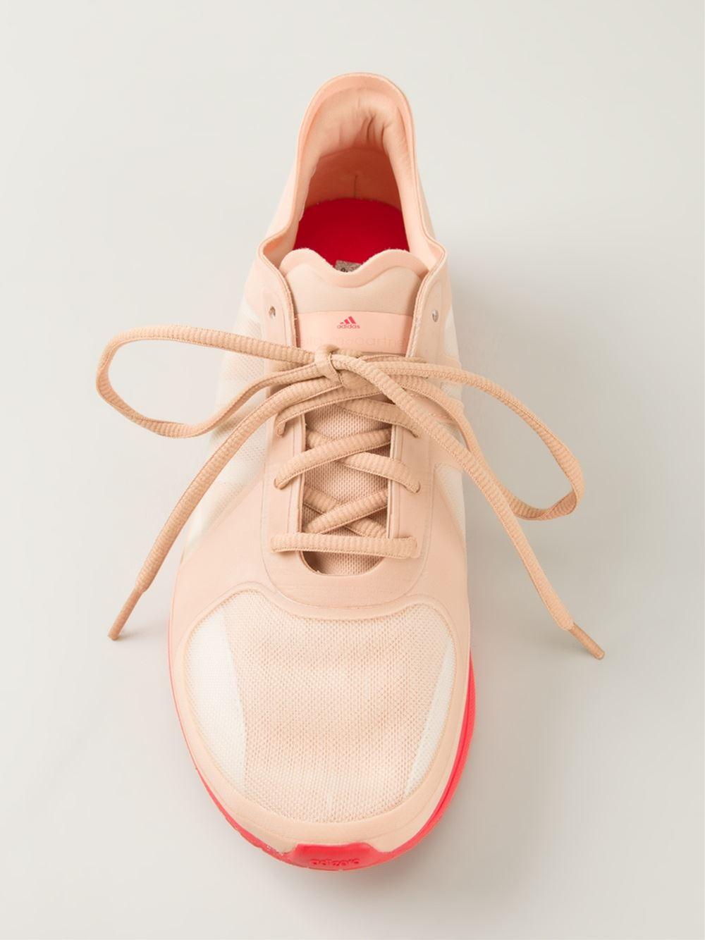 Lyst - adidas By Stella McCartney Adizero Diorite Trainers in Pink ab44264162