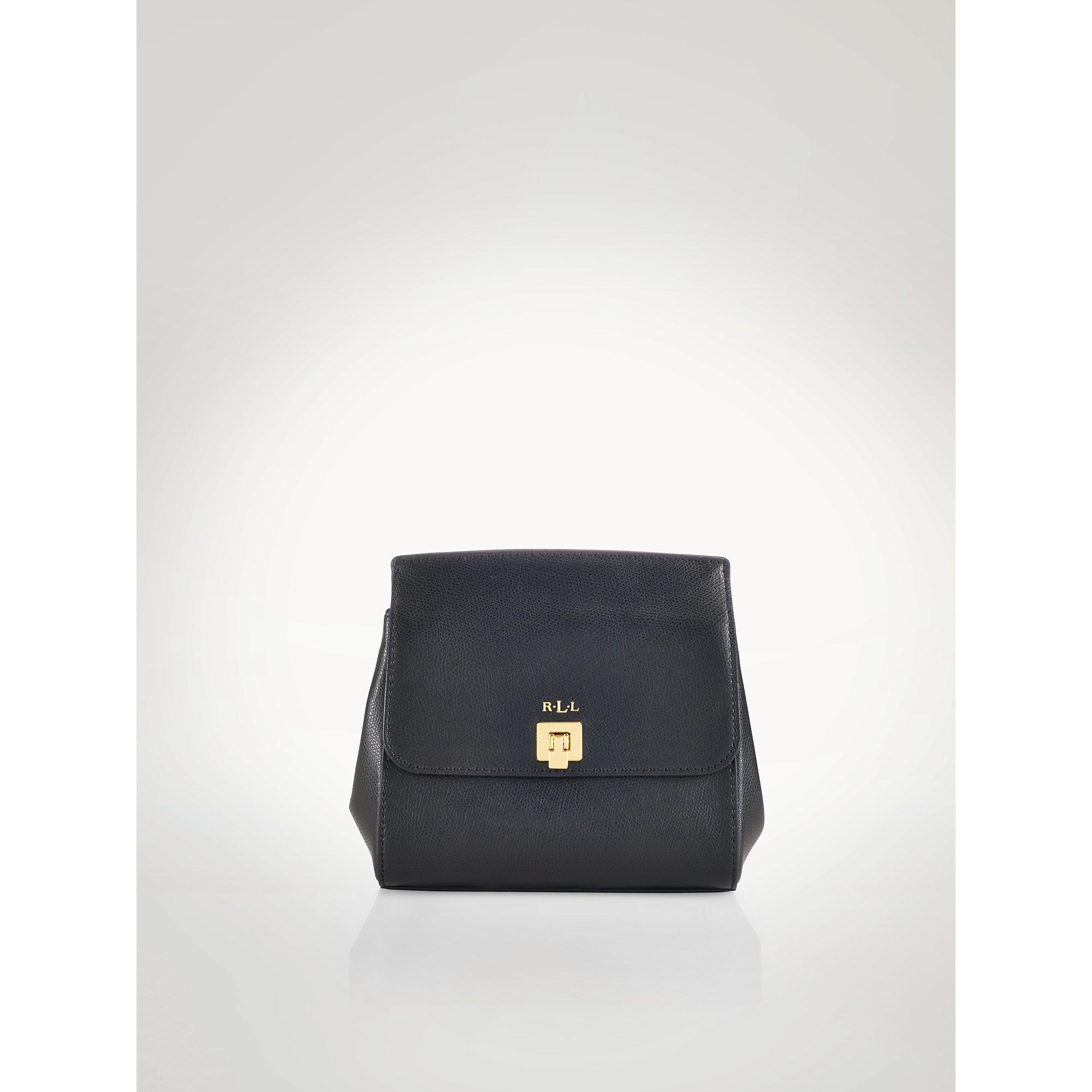 ab0f21da653e ... ebay lyst ralph lauren whitby leather cross body bag in black e709f  23120 ...