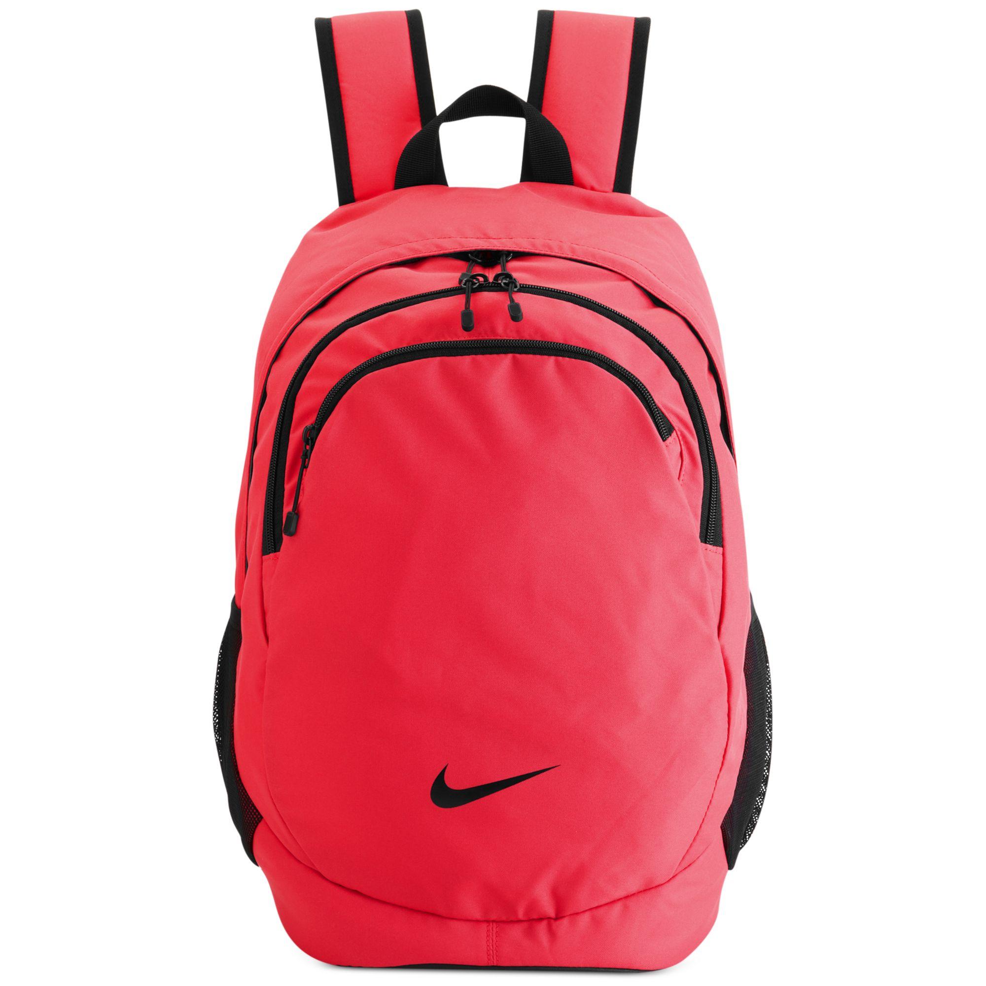 Lyst - Nike Team Training Backpack in Red 943a54baa9cf9