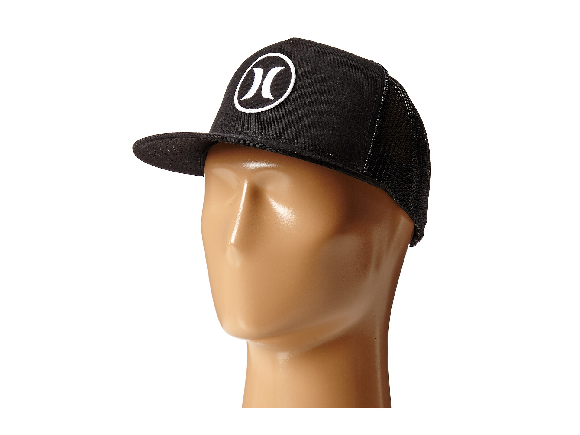 online store 3efa2 b8e76 ... order lyst hurley block party movement trucker hat in black for men  b42ad fa598