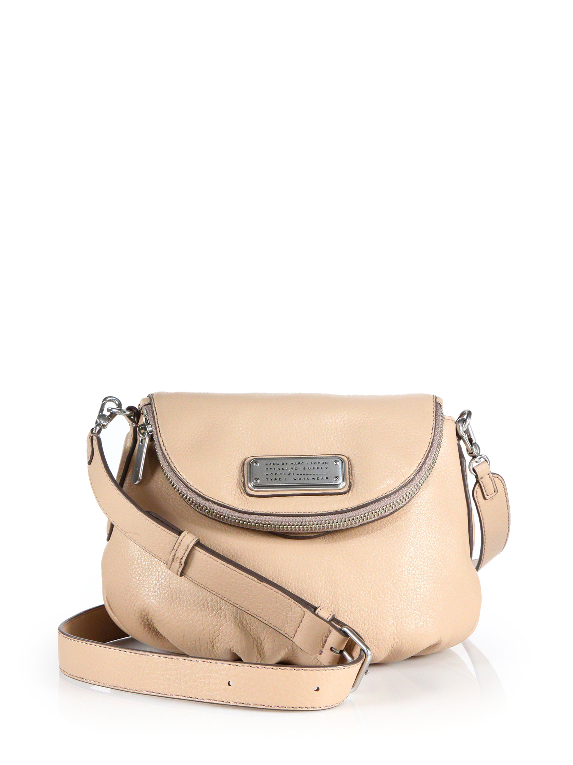 e749d2f5c6 Lyst - Marc By Marc Jacobs Mini Natasha Crossbody Bag in Natural