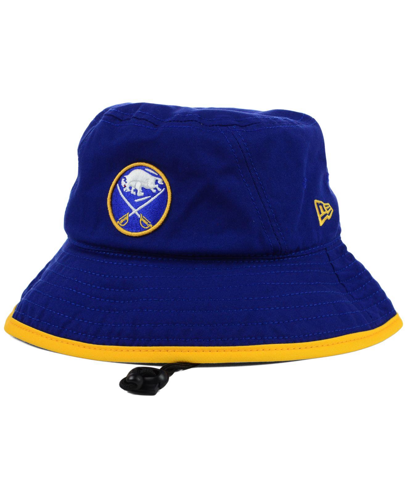 822ec33d13d Lyst - KTZ Buffalo Sabres Basic Tipped Bucket Hat in Blue for Men