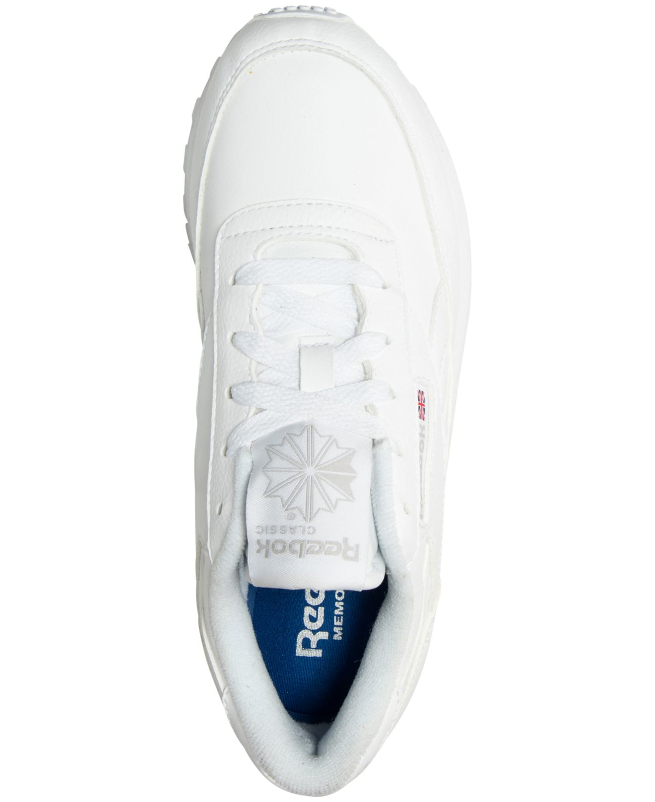 940a3f46222aa5 Lyst - Reebok Women s Classic Renaissance Casual Sneakers From ...