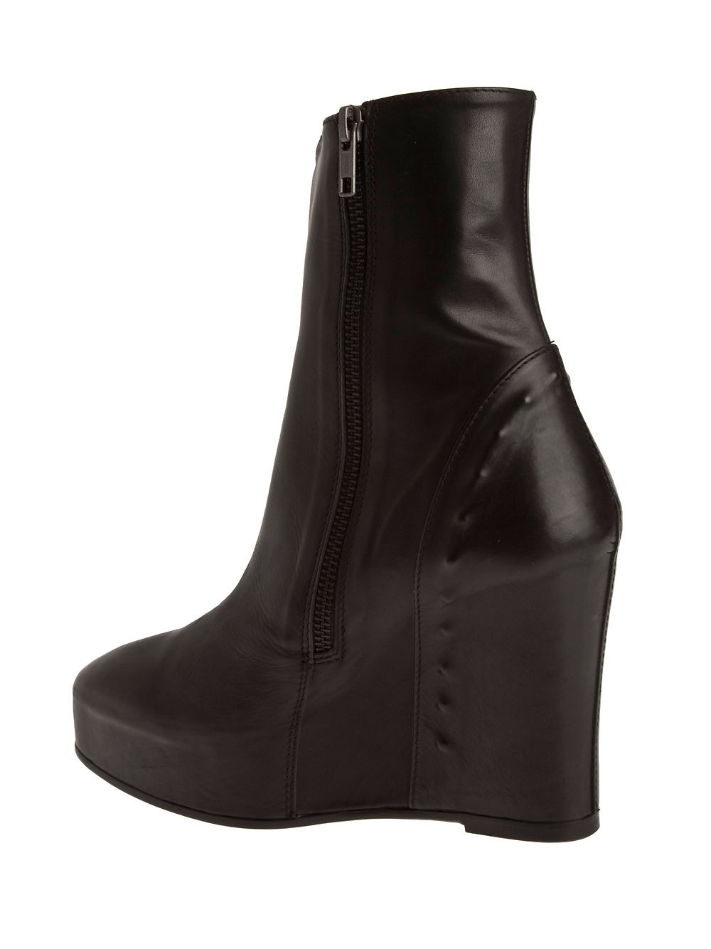 Ann Demeulemeester Black Wedge Boots HPBwaYWqEE