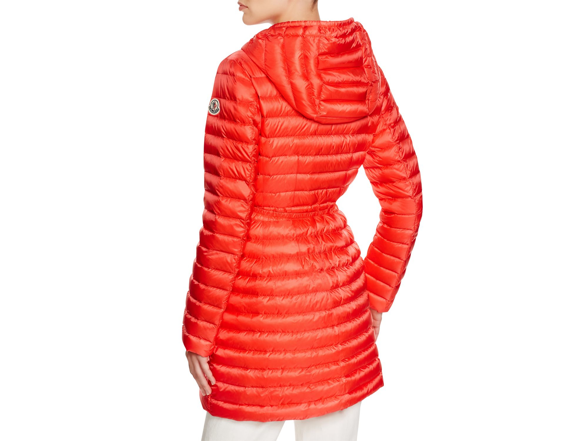Canada Goose' Brookvale Hooded Puffer Jacket - Coral