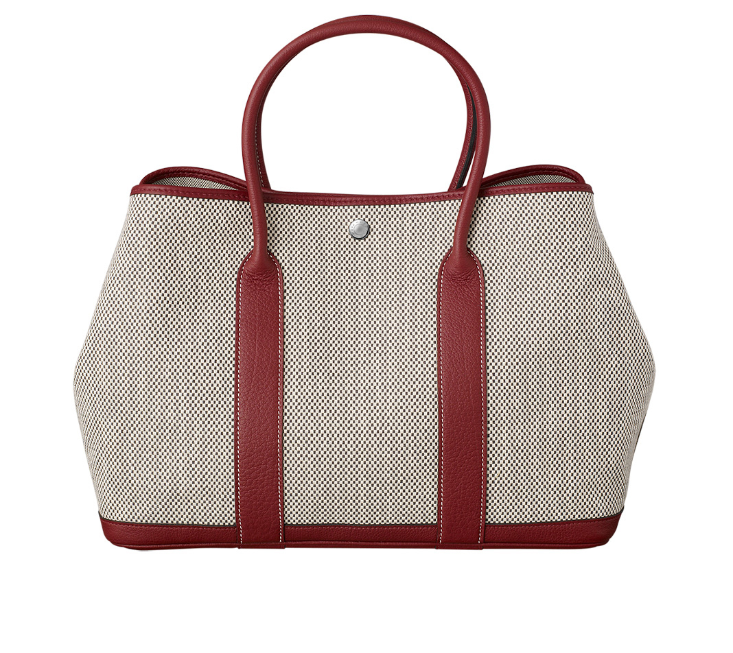 price of hermes bag - Herm��s Garden Party in Gray (ECRU/GRAPHITE/ROUGE H) | Lyst