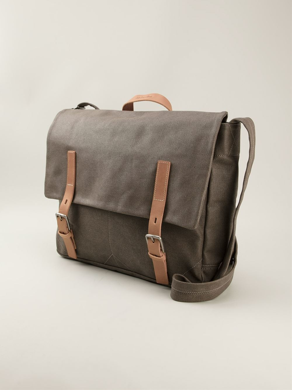 Ally Capellino Ben Satchel in Gray for Men - Lyst
