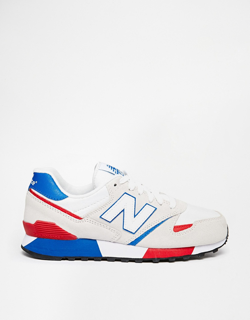 new balance 446 red white blue
