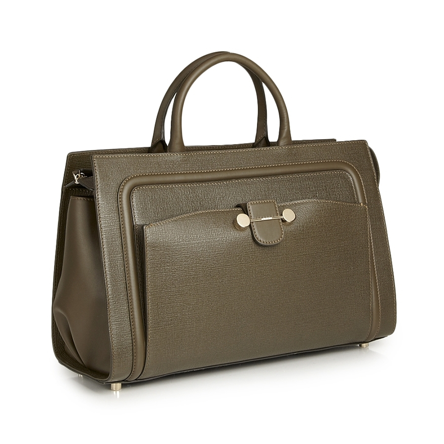 Jason wu Daphne East West Leather Tote Bag in Green