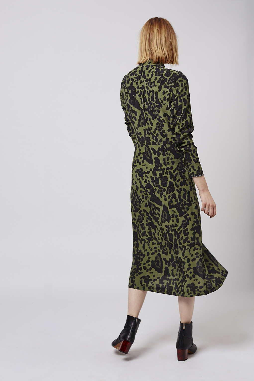 4546a9e399a2 Topshop Leopard Print Midi Dress – DACC