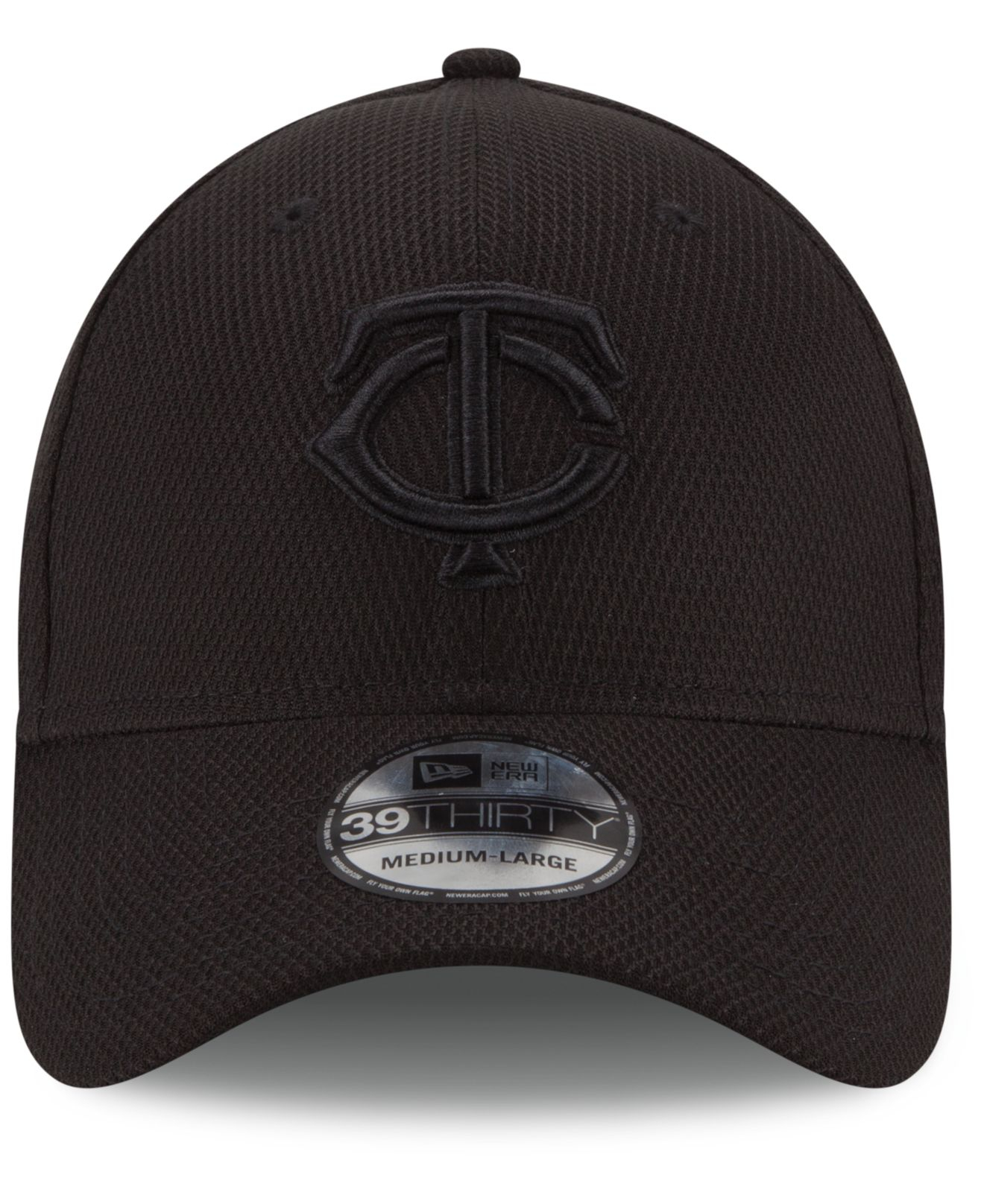Lyst - KTZ Minnesota Twins Black Diamond Era 39thirty Cap in Black ... c0bb038f579