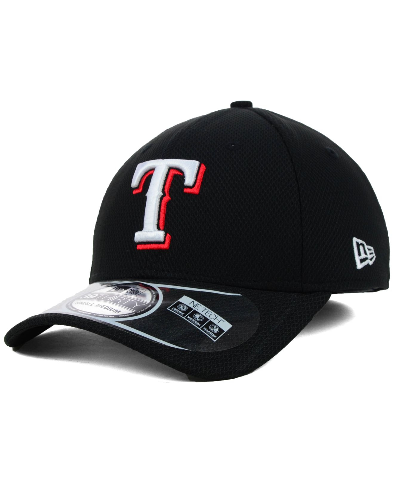 Lyst - KTZ Texas Rangers Mlb Diamond Era Black 39Thirty Cap in Black ... cf8f66aa474b
