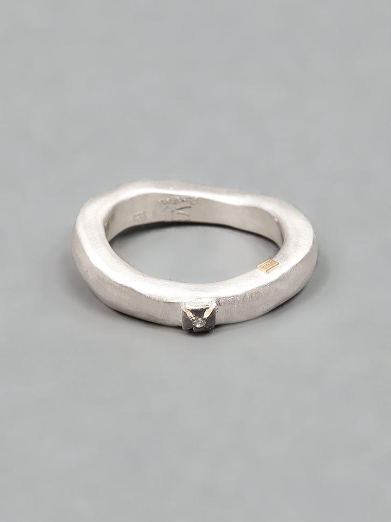 Rosa Maria studded ring - Grey 6rzHGh