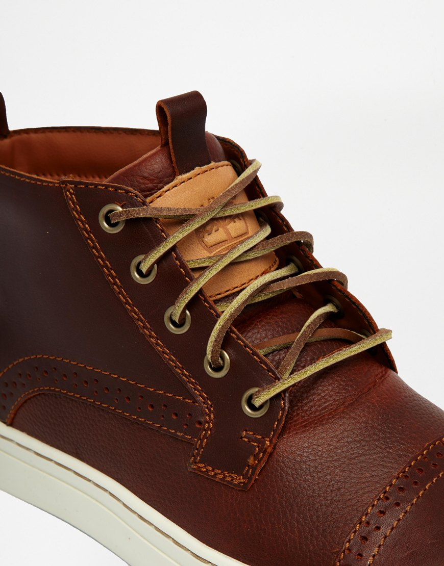 Lyst Timberland Adventure Cupsole Toe Cap Chukka Boots