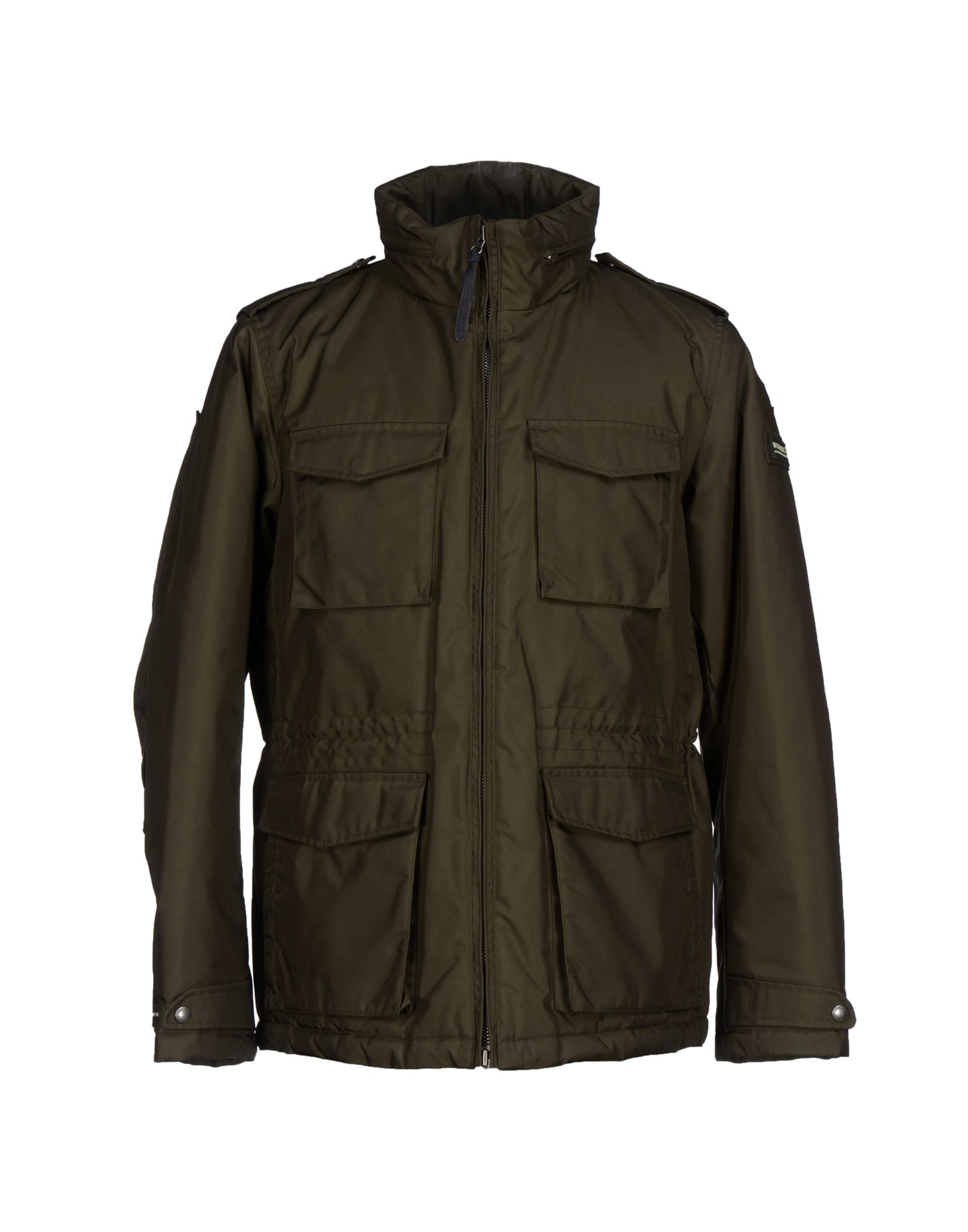 woolrich jacket in green for men dark green lyst. Black Bedroom Furniture Sets. Home Design Ideas