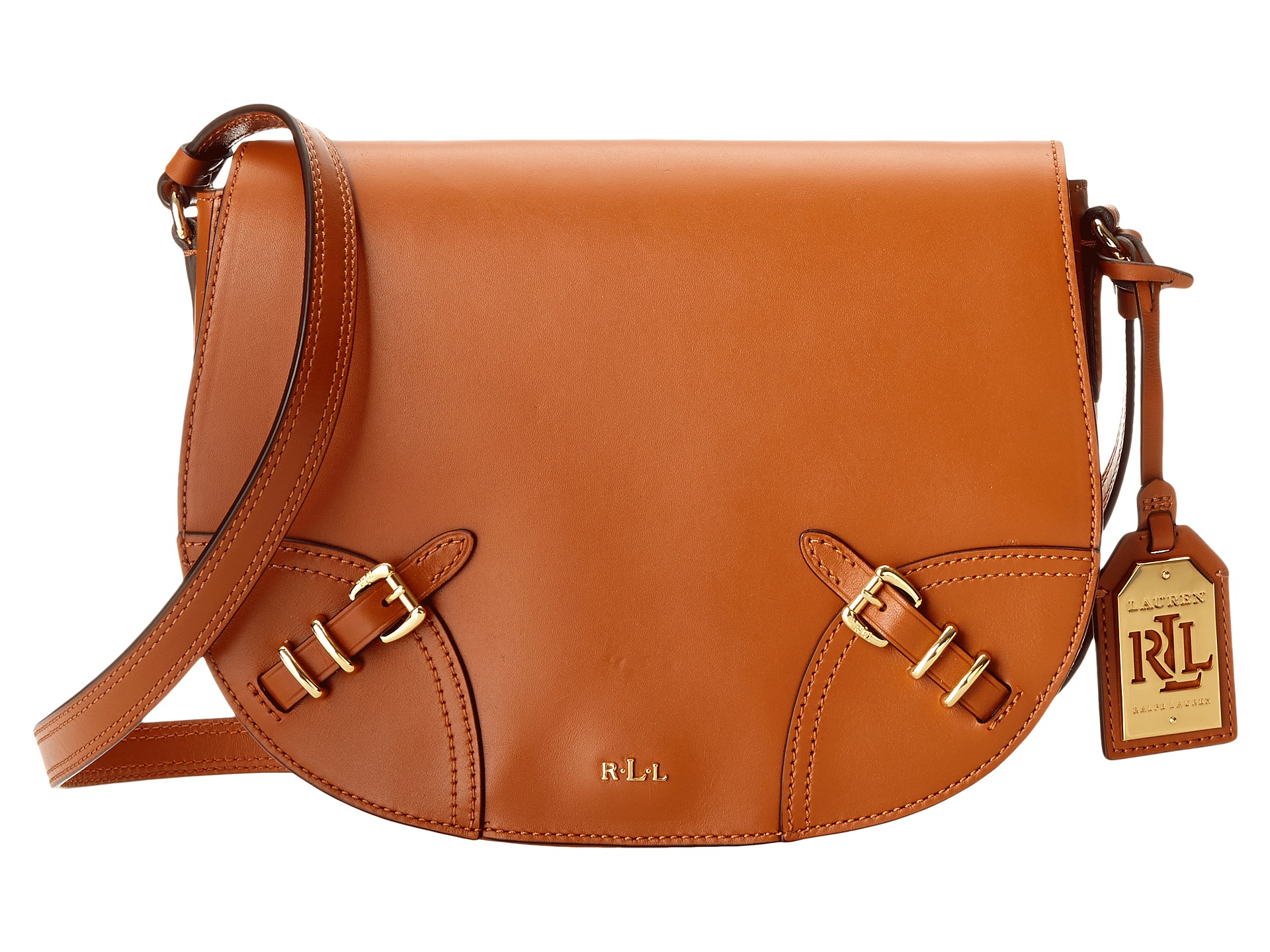 Polo Ralph Lauren buckle saddle bag The Cheapest GJPymdPEvt